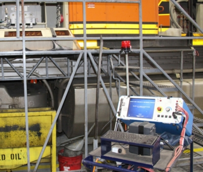 Locomotive Motor Testing - Advanced solutions for detection and correction of locomotive traction motor problems